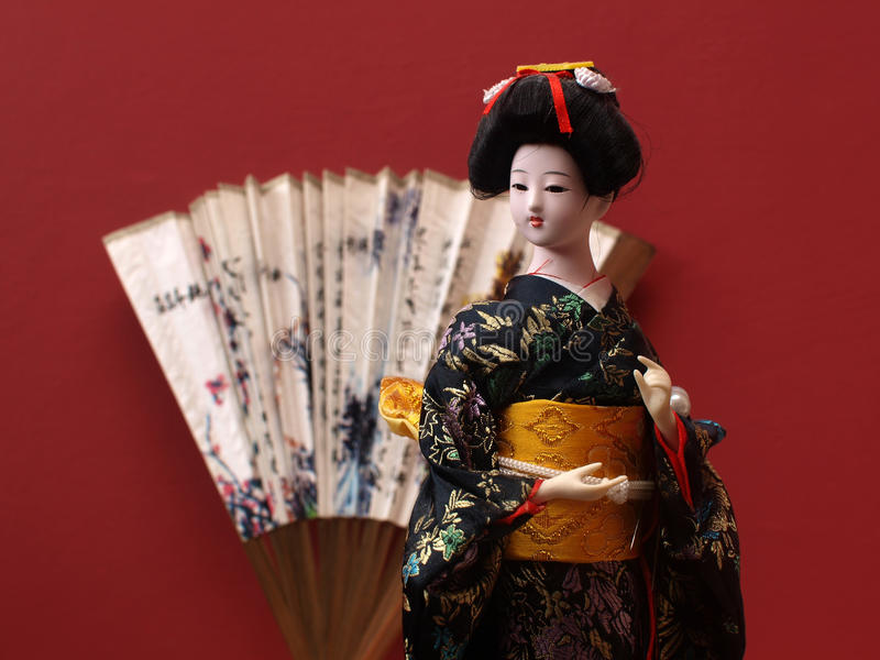 Download Doll stock image. Image of oriental, kimono, traditional - 28785199