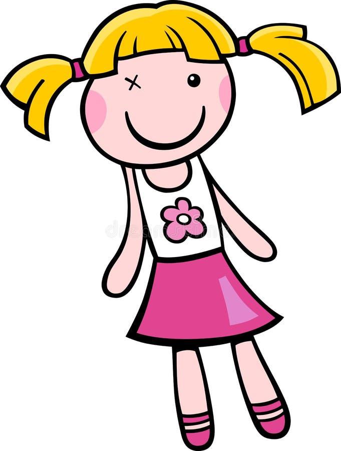 doll clip art cartoon illustration stock vector illustration of rh dreamstime com doll clip art images doll clip art free