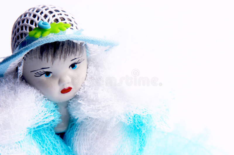 Download Doll face stock image. Image of background, detail, girl - 109347
