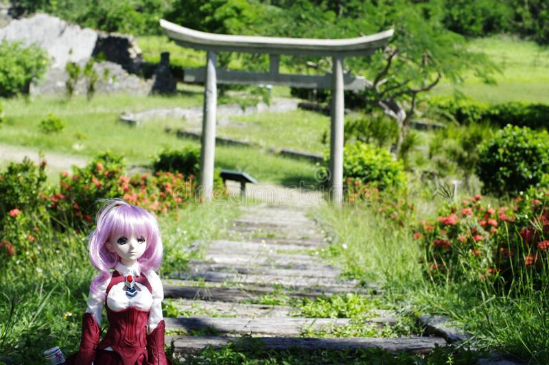 Doll In Garden Free Public Domain Cc0 Image