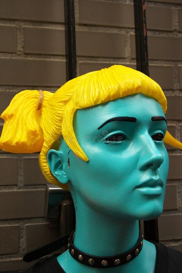 Doll Head royalty free stock photos