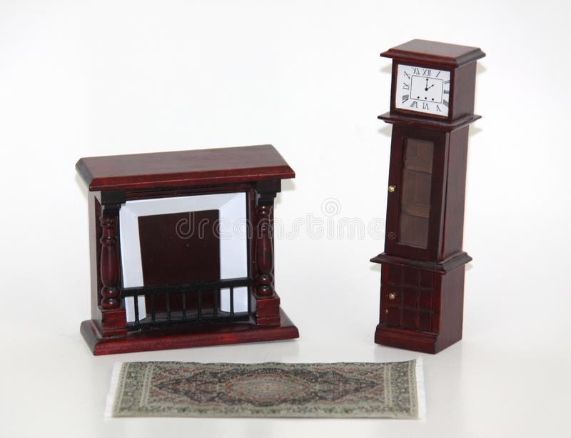 Doll house furniture stock image