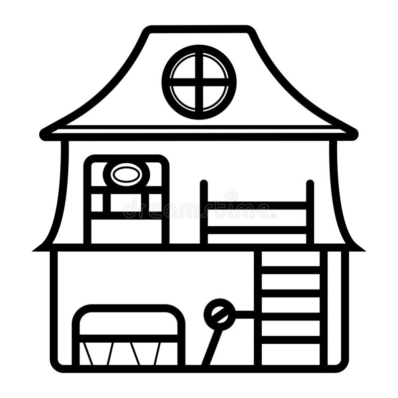 Doll House Clipart   Free Images at Clker.com - vector clip art online,  royalty free & public domain