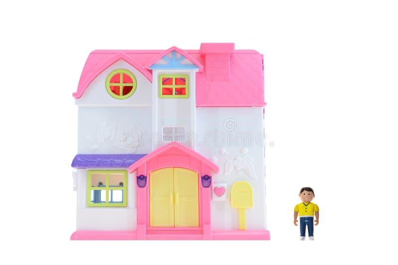 Doll Huis royalty-vrije stock afbeeldingen