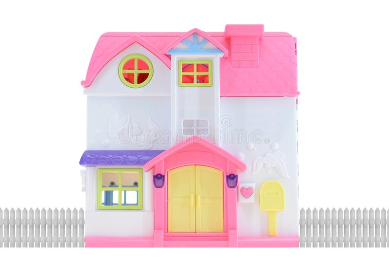 Doll Huis stock afbeelding