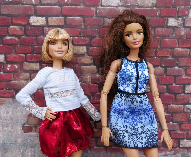 Doll, Pink, Girl, Fashion royalty free stock photography