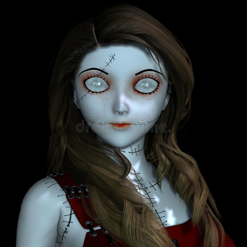 Download Doll With Scars Stock Images - Image: 22182614