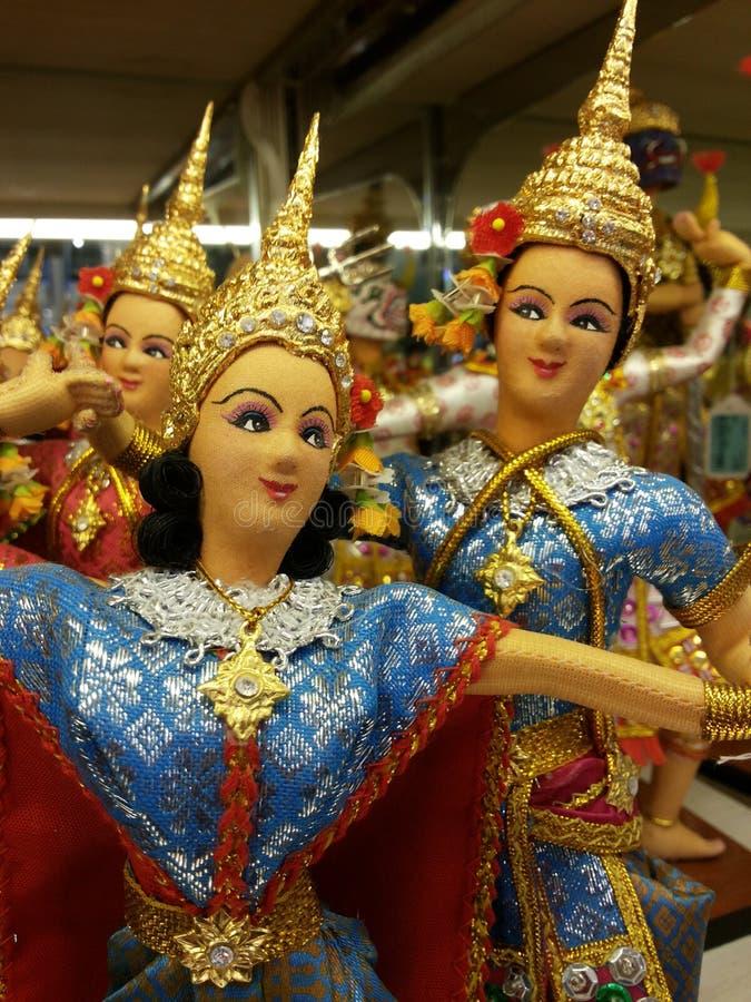 Doll van Bangkok royalty-vrije stock foto's
