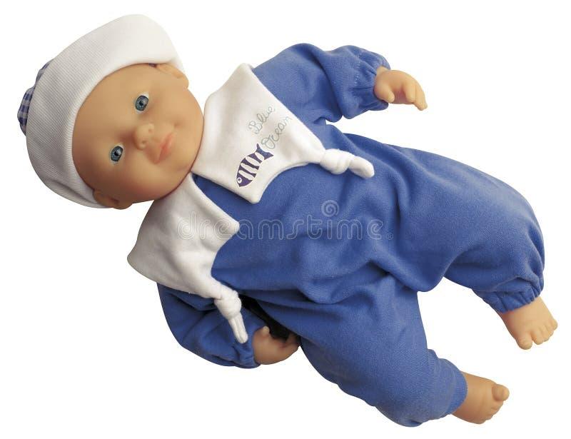 Doll van de Jongen van de baby stock foto