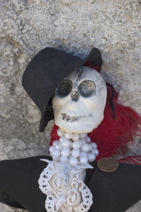 Doll van het skelet royalty-vrije stock foto