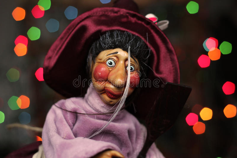 Download Doll Witch stock photo. Image of colourful, grey, celebration - 24226782