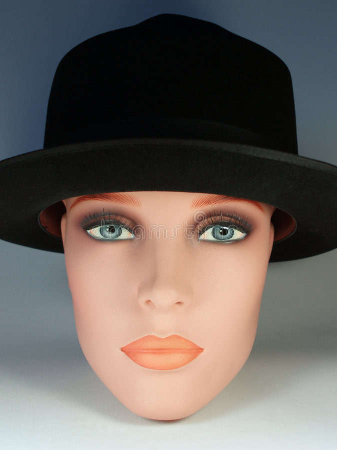 Free Doll With Black Hat 2 Royalty Free Stock Images - 533229