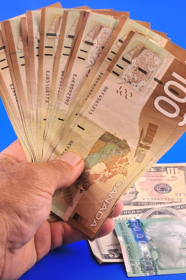 Dollar à disposition image libre de droits