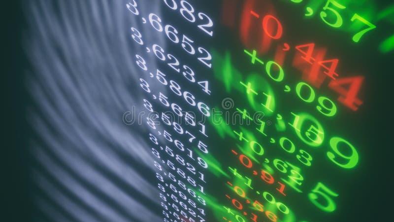 dollar& x27 τρισδιάστατη απεικόνιση συναλλαγματικής ισοτιμίας του s διανυσματική απεικόνιση