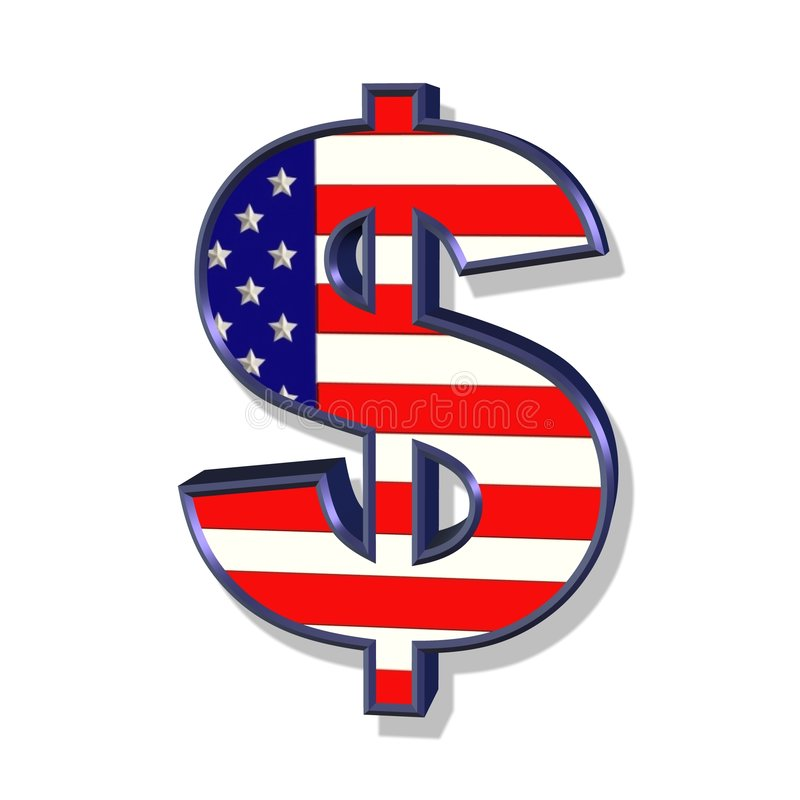 Dollar royalty free illustration