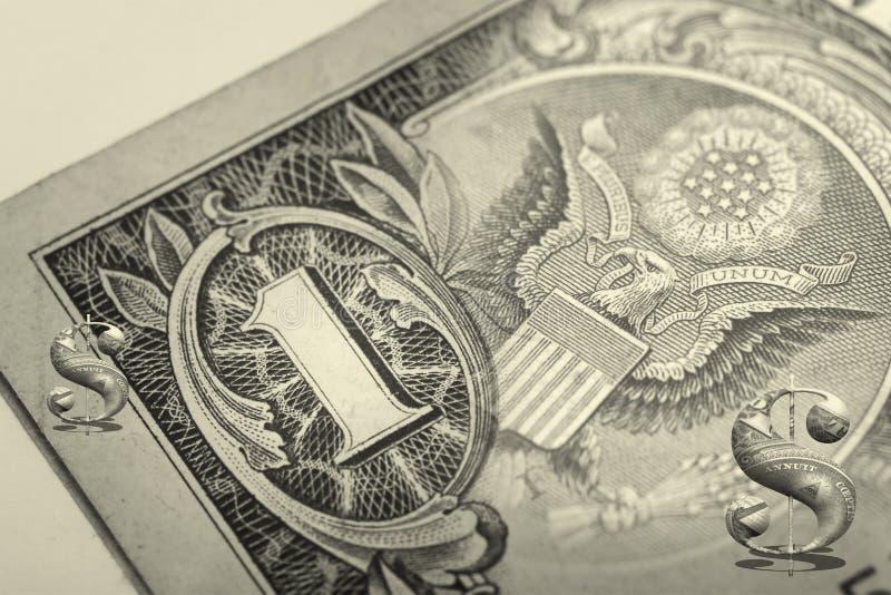 Dollar arkivfoton