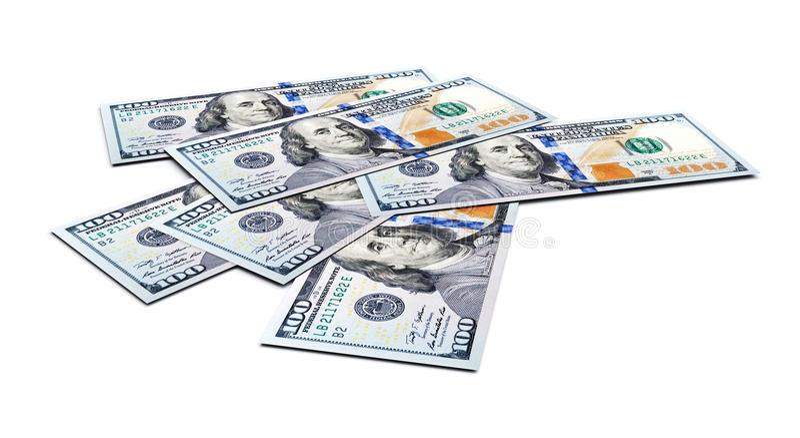 Dollar royaltyfri illustrationer