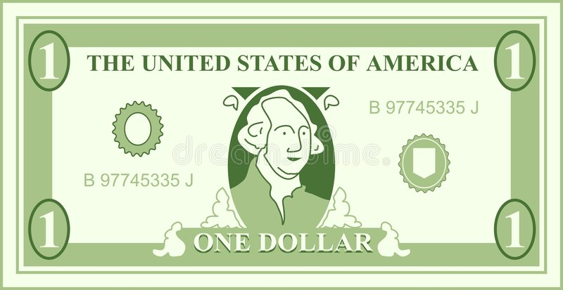Dollar royalty free illustration