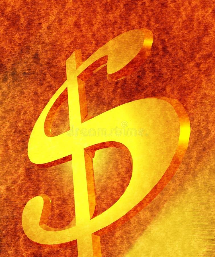 Dollar Royalty-vrije Stock Afbeeldingen