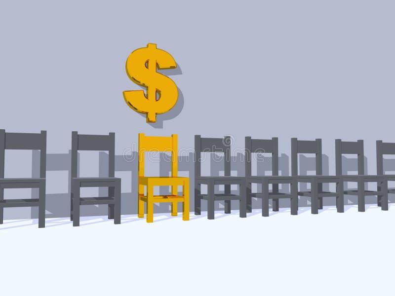dollar illustration libre de droits