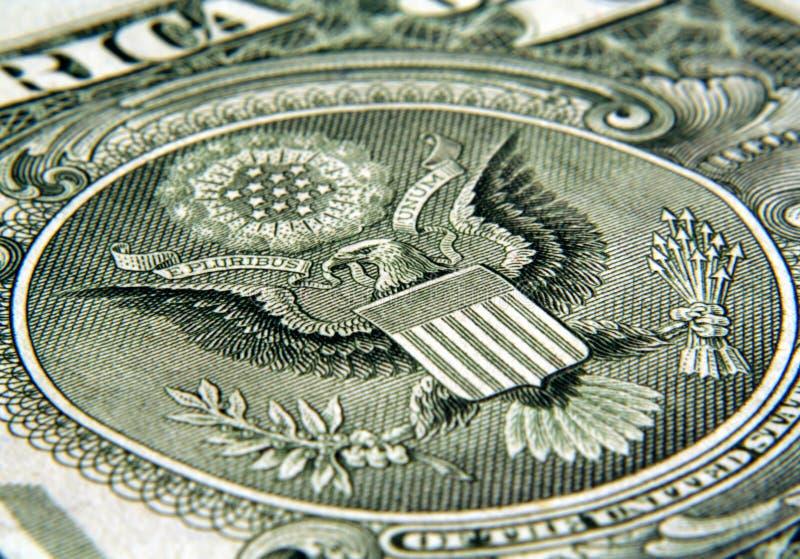 Dollar - aigle photographie stock libre de droits