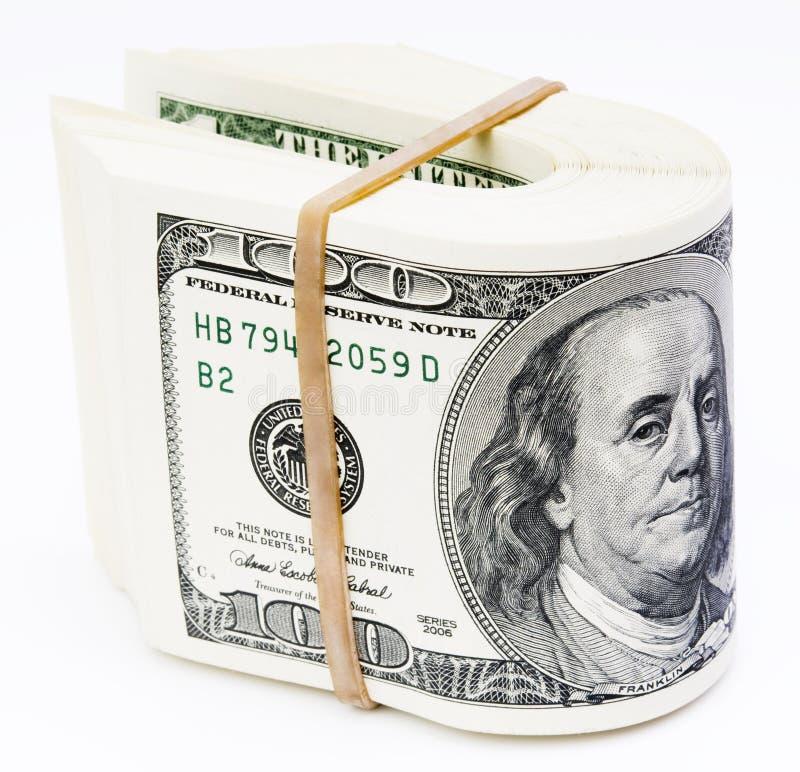 dollar anmärkning royaltyfri fotografi