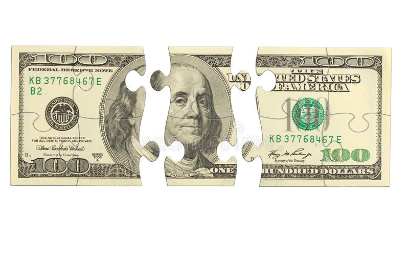 Download Dollar Bank Note Money Puzzle Stock Photo - Image of bank, heap: 32214382