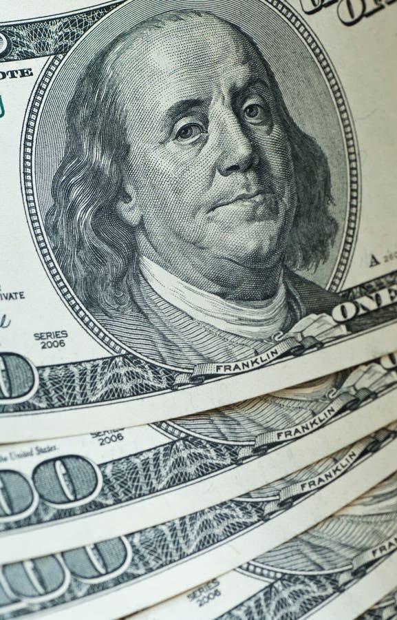 Dollar banknotes royalty free stock photo
