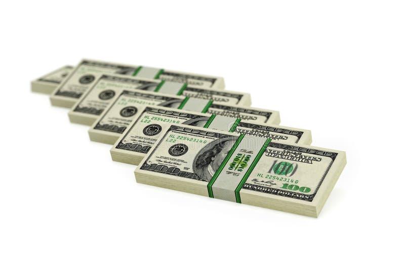 Download 100 Dollar bills stock illustration. Illustration of bonanza - 32925008