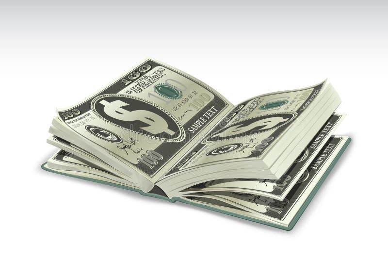 Dollar Book royalty free illustration
