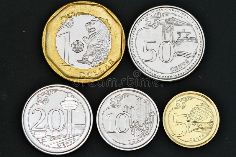 Download 2013 Singapore coins stock photo. Image of dollar, bucks - 33314158