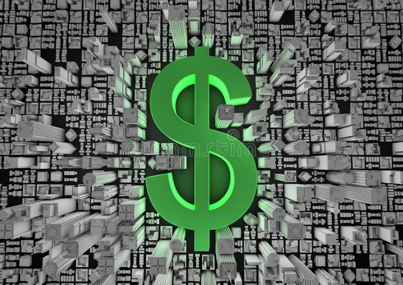 Dollar City Stock Image