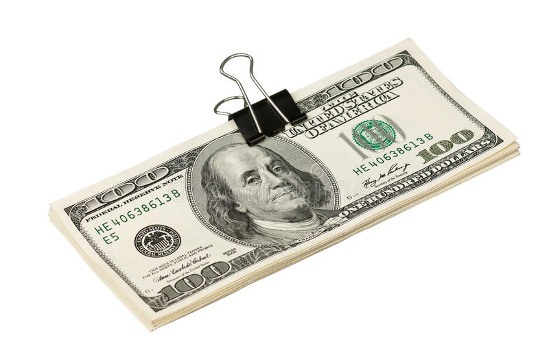 Download Dollar with clip stock photo. Image of financial, american - 29335596