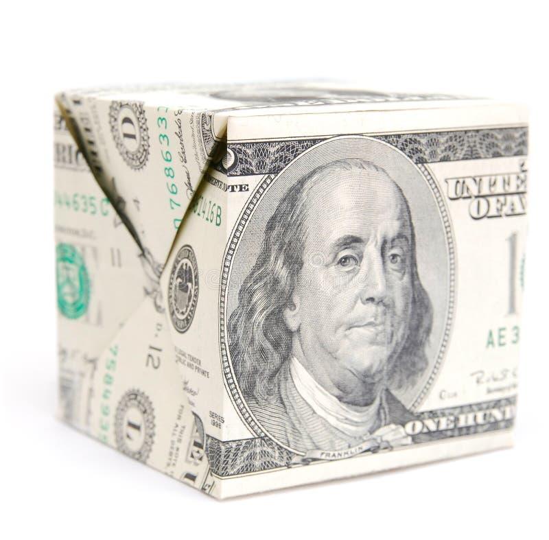 Download Dollar cube stock image. Image of folding, cube, block - 22176311