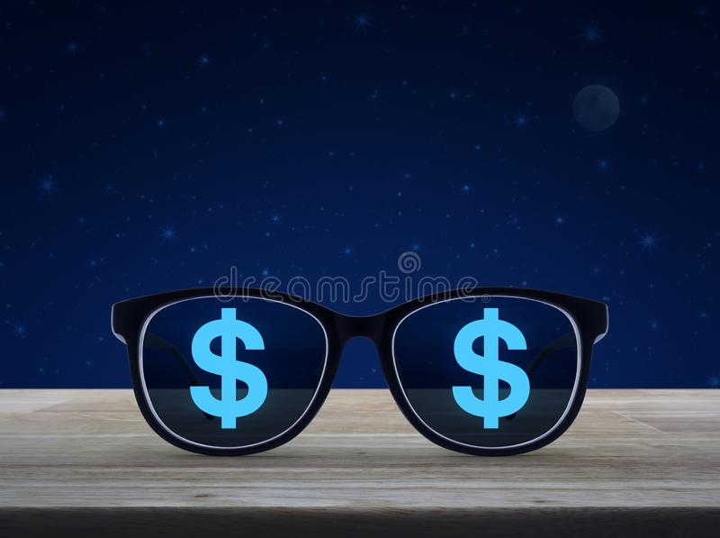 Business vision and success concept stock images