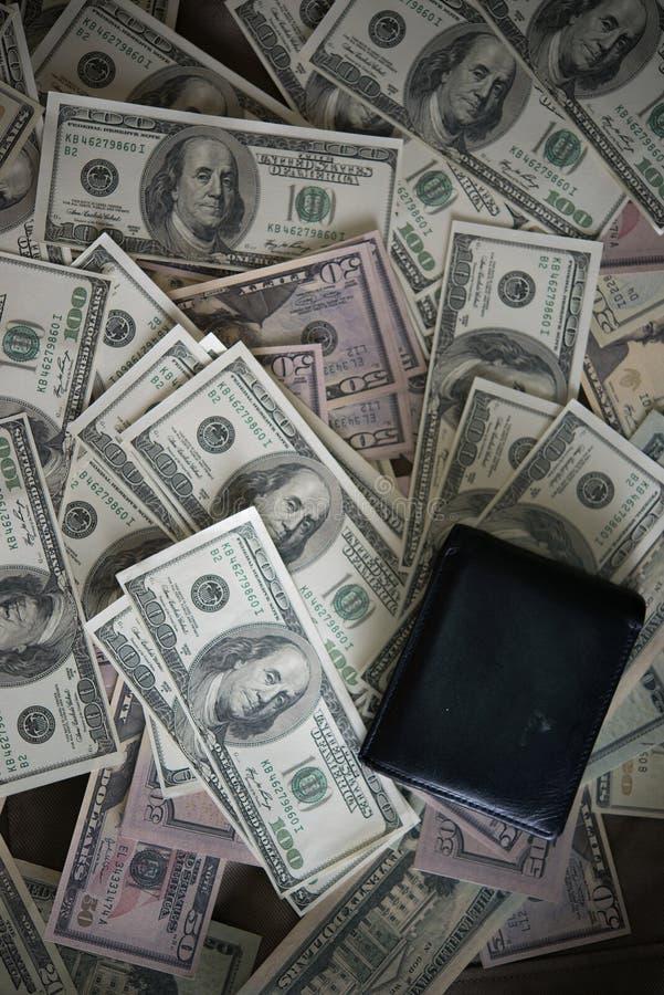 Dollar de Billie avec le portefeuille photo stock