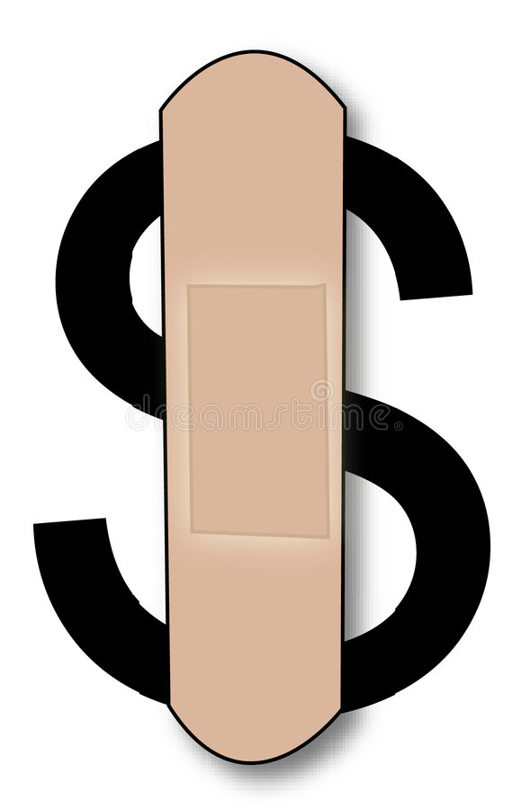 Dollar de purge illustration libre de droits