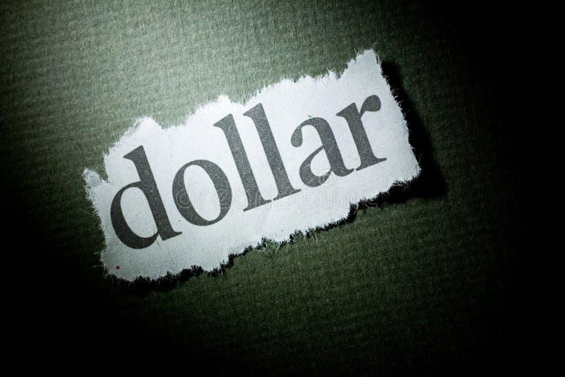 Dollar de titre images libres de droits