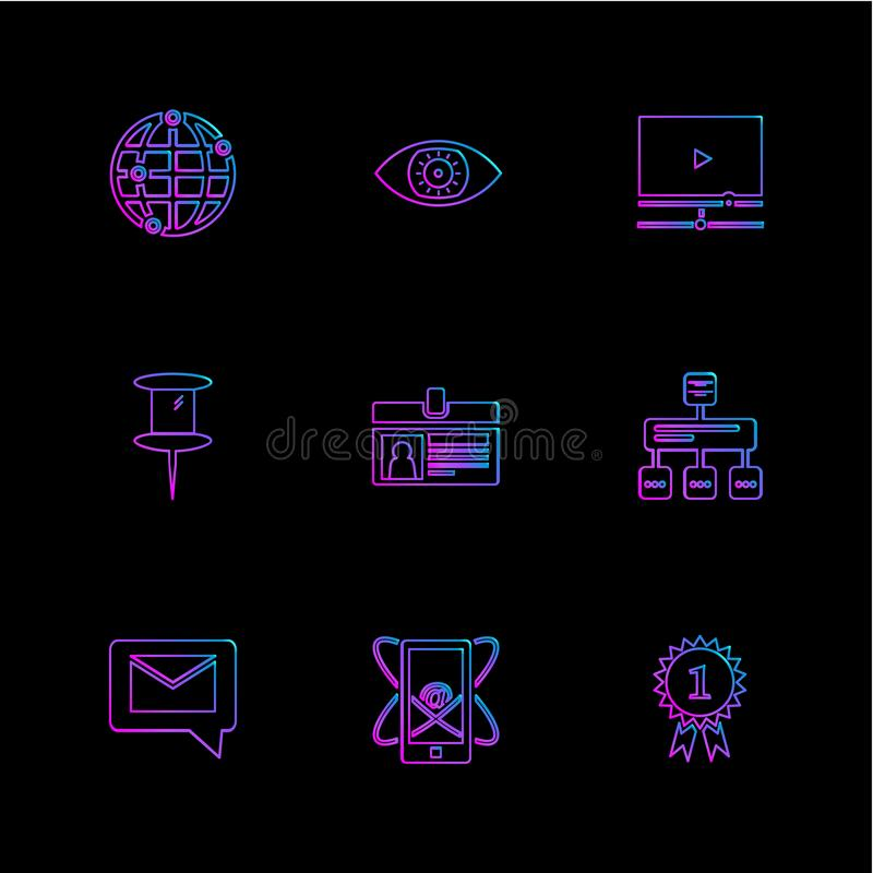Dollar , ecg , search , bugs , technology , communication , eps. Dollar , ecg , search , bugs , technology , communication , money , eye , seo , umbrella royalty free illustration