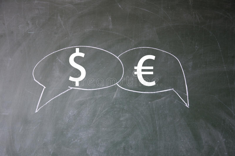 Download Dollar And Euro Symbol Royalty Free Stock Photography - Image: 25641557