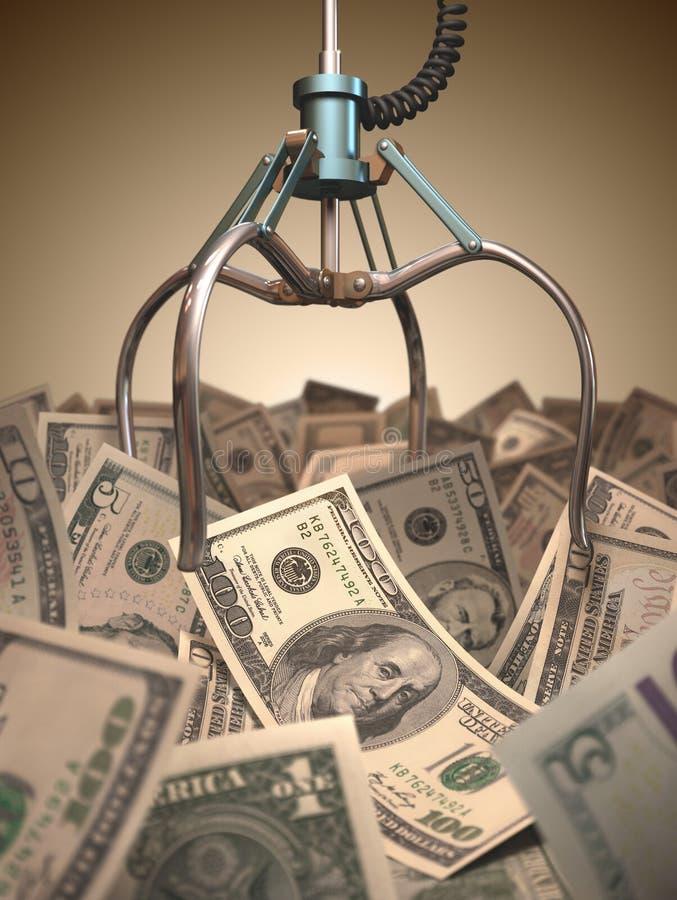 Download Dollar Grabber Game Stock Photos - Image: 33602673