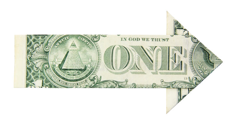 Download Dollar growth arrow stock image. Image of symbol, finance - 24938821