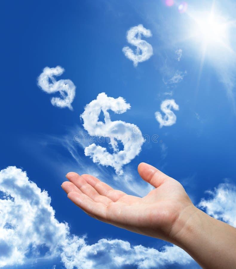 Dollar het dromen royalty-vrije stock afbeelding