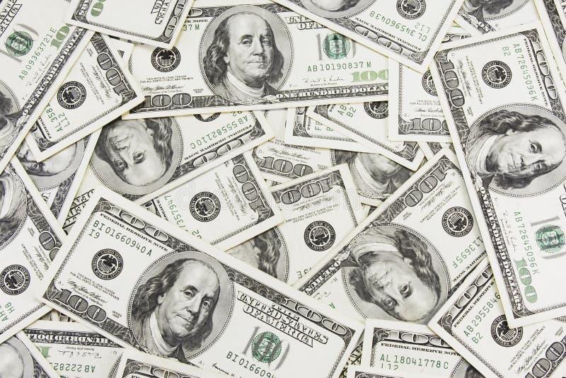 Dollar Hintergrund- lizenzfreie stockfotos