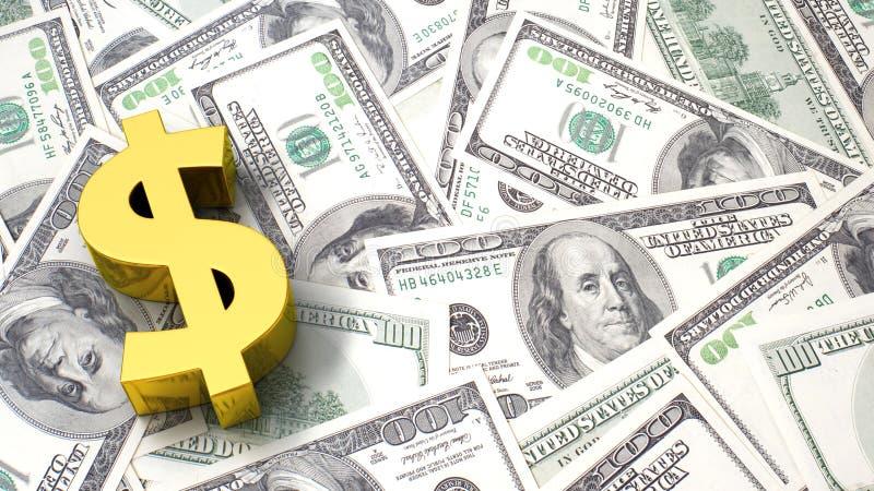 Dollar Hintergrund vektor abbildung