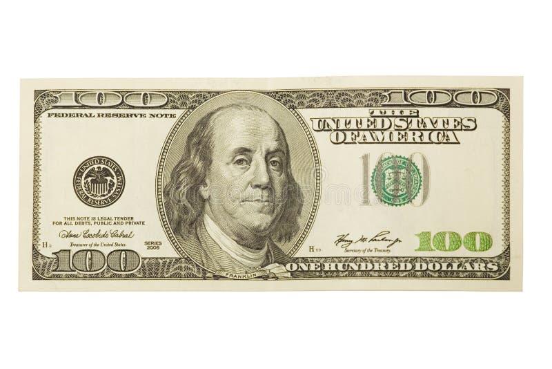 Dollar honderd stock foto