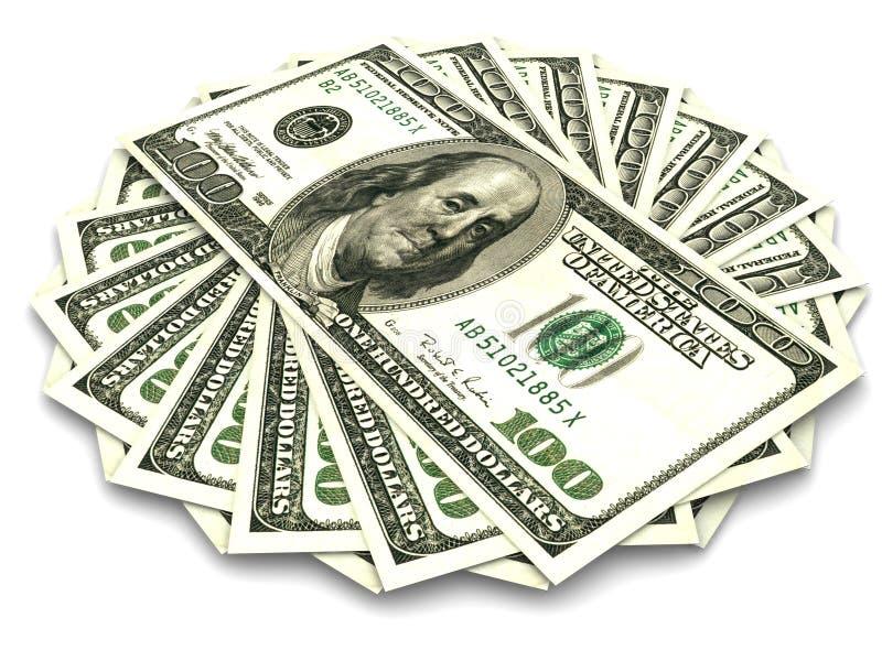 dollar hundra royaltyfria foton