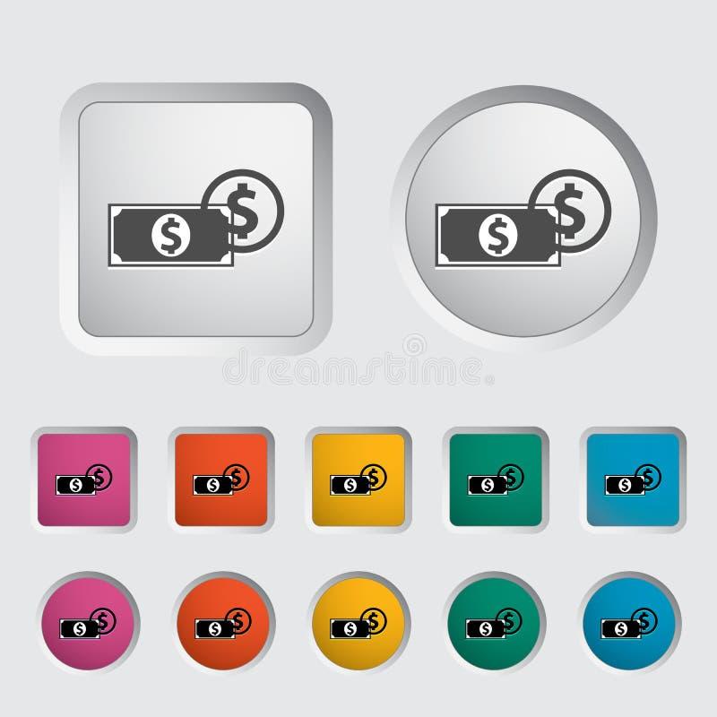 Free Dollar Icon 2 Royalty Free Stock Photography - 102455547