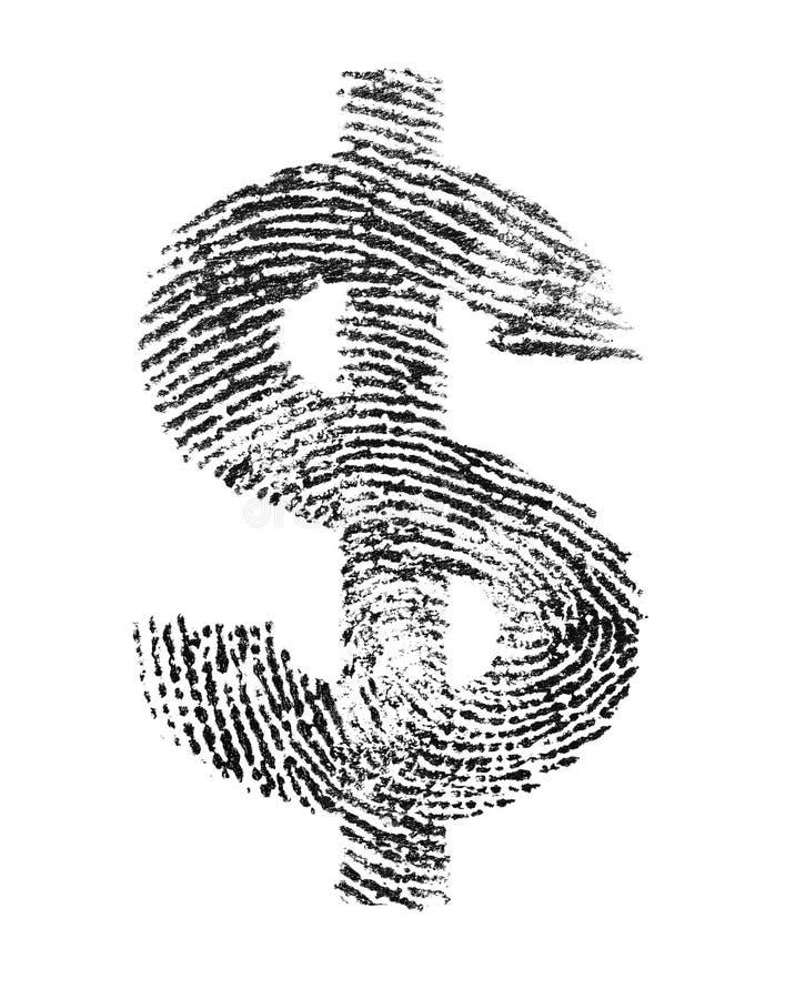 Dollar-Identität lizenzfreie stockfotografie