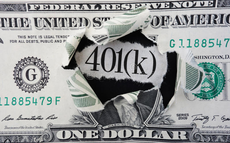 401 dollar (K) royaltyfri bild